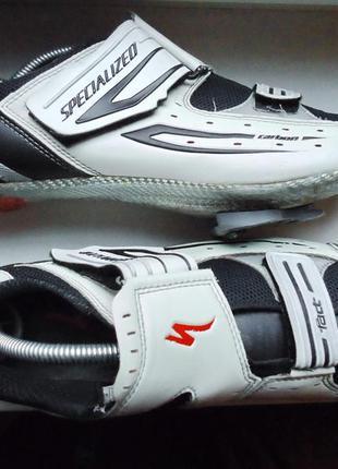 Велообувь specialized fact carbon велотуфли (44)