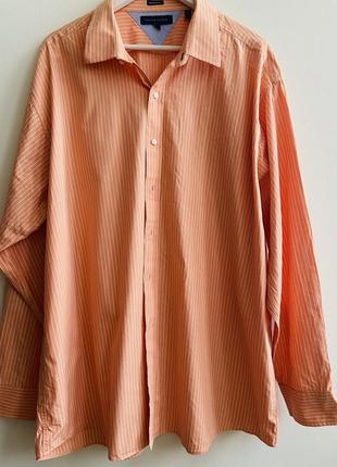 Мужская рубашка tommy hilfiger p.18 1/2/ 36-37 #1643 новое пос...