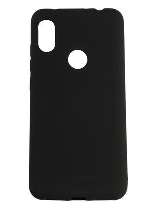 Силиконовый чехол для Xiaomi Redmi Note 6 Pro, Molan Cano, черный