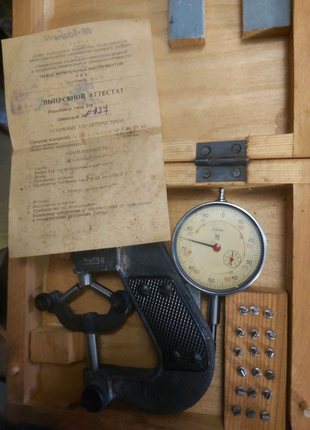 Индикаторы, микрометры и другие измерительные предметы