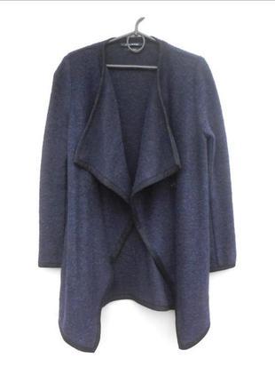 Базовый модный осенний шерстяной кардиган пальто 🌿