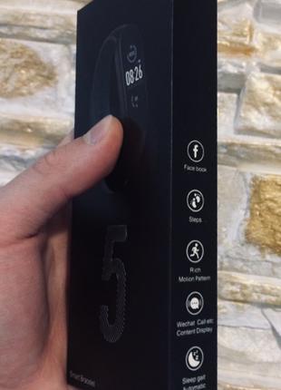 Xiaomi Mi Smart Band 5 Black Original фитнес трекер