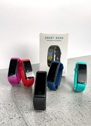 Фитнес браслет ID115 plus смарт часы умные трекер годинник