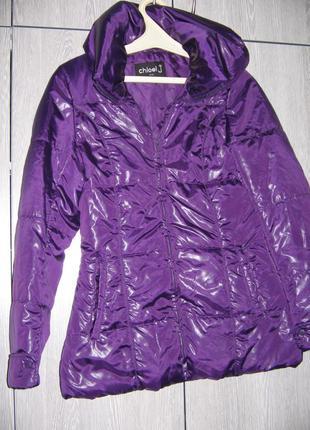 Курточка фиолетовая cloel j корея