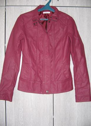 Куртка бордовая новая
