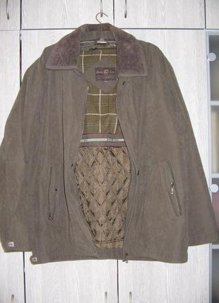 Куртка мужская теплая zhan shi