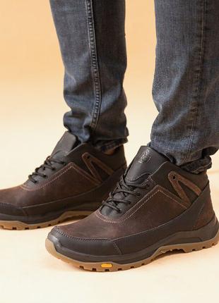 Кроссовки кожаные шерсть Anser 40-45