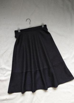 Стильная юбка спідниця с воланом h&m