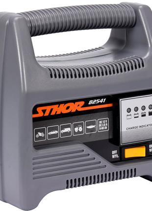 Зарядное устройство для аккумулятора авто 12 вольт Sthor 82541