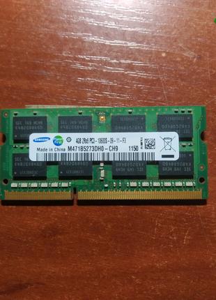 Sodimm ddr3 4 Гб оперативная память для ноутбука