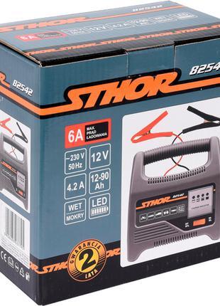 Зарядное для аккумулятора автомобилей 12 вольт Sthor 82542