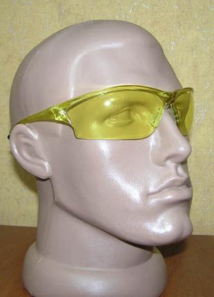Противоосколочные защитные очки (желтые линзы)