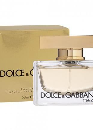 DOLCE & GABBANA the one  EDP 50 мл.