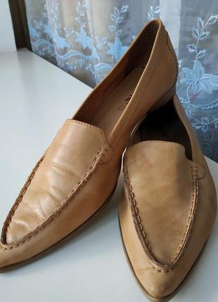 Tamaris туфли, балетки кожа