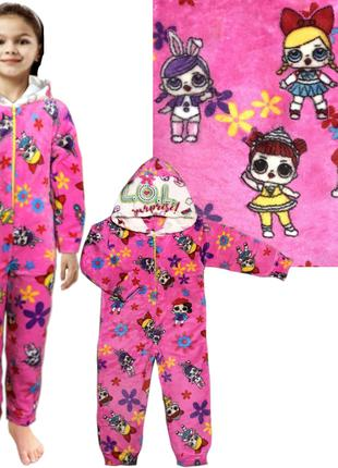Пижама кигуруми Лол р.26-32 (1-6 лет, рост 80-116 см) 03.18.01