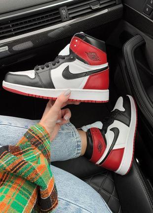 Nike air jordan 1 retro, кросівки найк джордан  ретро високі