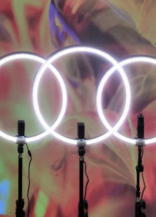 Кольцевая лампа. Световое кольцо. Led ring. Кольцевой свет + ш...