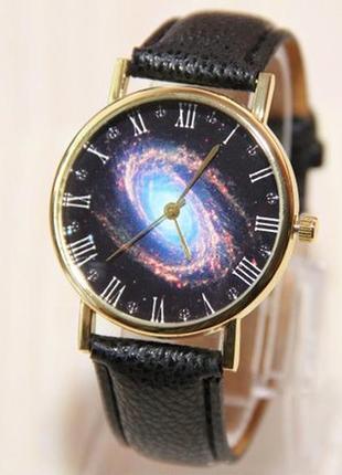 Часы галактика, часы созвездие, часы космос, женские часы, муж...