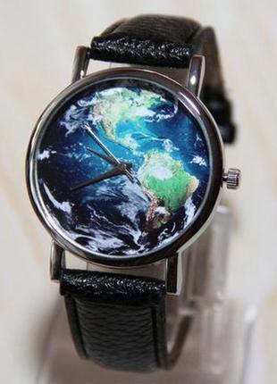 Наручные часы - карта мира , часы глобус, мужские часы