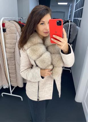 короткое пальто с мехом,пальто с натуральным мехом,пальто с мехом