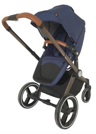 Дитяча коляска 2 в 1 (синій)