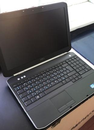 Ноутбук Dell Latitude E5520/Intel i5/HD3000/4gb/320gb/2ч акб