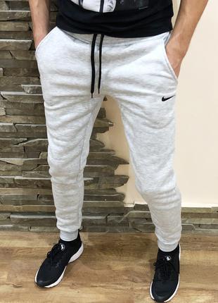 Спортивные штаны мужские (флис) Nike