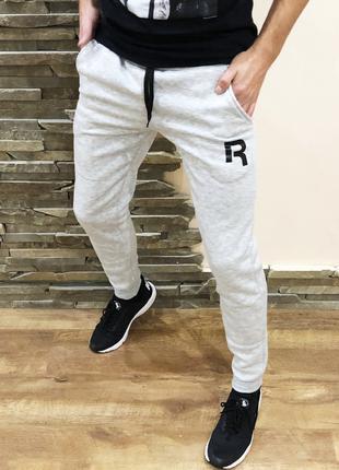 Спортивные штаны мужские  (флис) Reebok