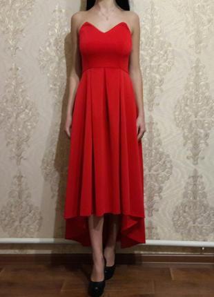 Вечернее платье нарядное выпускное