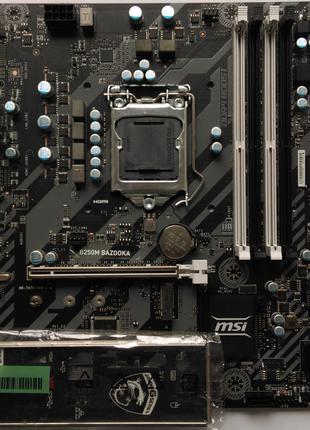 Материнская плата MSI B250M BAZOOKA (s.1151 DDR4)