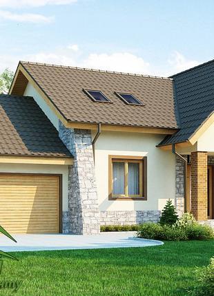Строительство  и проектирование жилого дома
