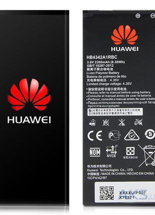 Аккумулятор Huawei Honor 4A, Y5 II, Y6, HB4342A1RBC (2200 mAh)АКБ