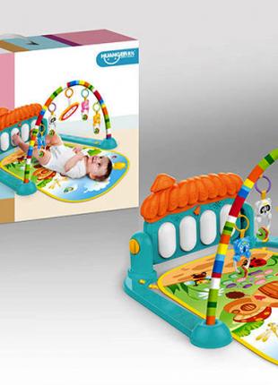 Коврик развивающий для малышей 0639 музыкальный с Пианино