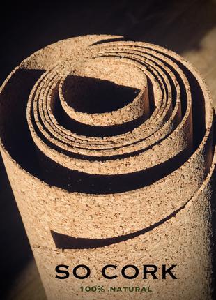 Підкадка CORK UNDERLAYMENT 2 мм, 4 м.кв
