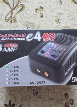 Зарядное устройство SKYRC E4 3A/20W С/БП ДЛЯ LIPO аккумуляторов