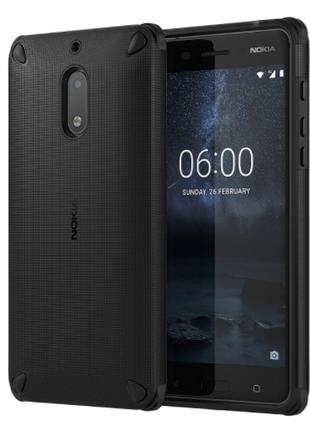 Чехол NOKIA CC-501 for NOKIA 6 PITCH BLACK (1A21M9200VA)