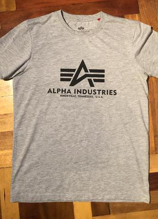 Alpha industries футболка