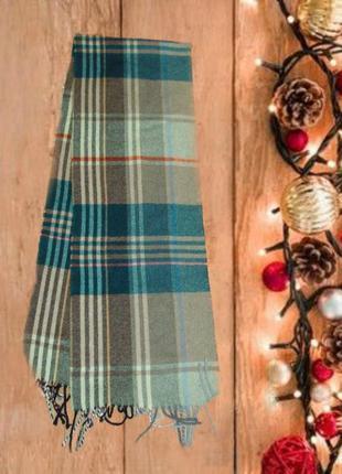 💨❄lambswool 1,60 итальянский шерстяной теплый мужской шарф в к...