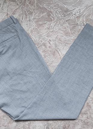 Мужские укороченные брюки зауженного кроя H&M