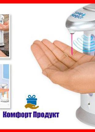Бесконтактный сенсорный дозатор для жидкого мыла, антисептикад...