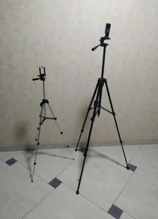 Штатив телескопический для камеры и телефона 3388 и 3888 с пул...