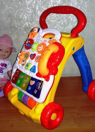 Каталка ходунки игровой центр SY 81 развивающий центр малыша