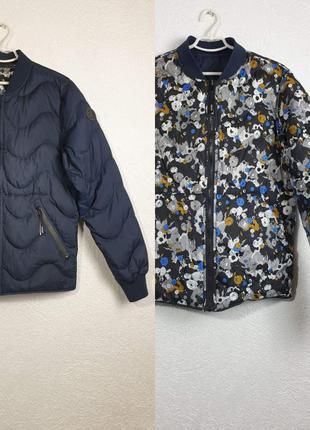 Двусторонняя куртка пуховик kenzo