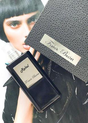 Franck Boclet Rebel_Оригинал Parfum_3 мл затест_духи