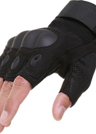 Перчатки тактические защитные. Военные рукавицы. Беспалые перчатк