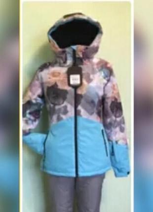 Женская горнолыжная термо куртка just play