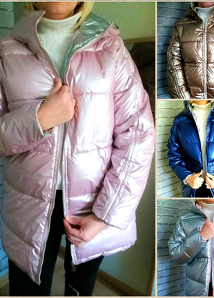 Парка женская зима 2021, курточка теплая, пальто