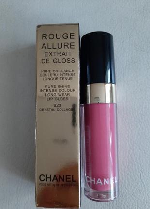 Помада блеск для губ rouge allure ectrait de gloss chanel