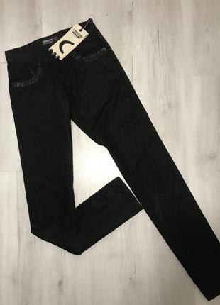 Чёрные мужские  брюки cardellino jeans 051 (28)