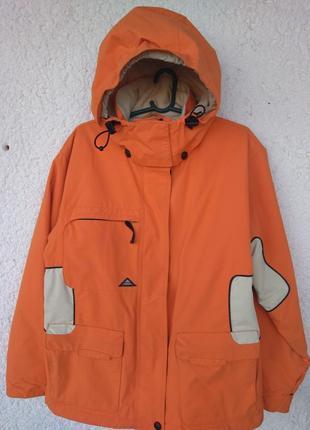 Куртка лыжная pulp sapphire трекинг waterproof 2000 мембрана m